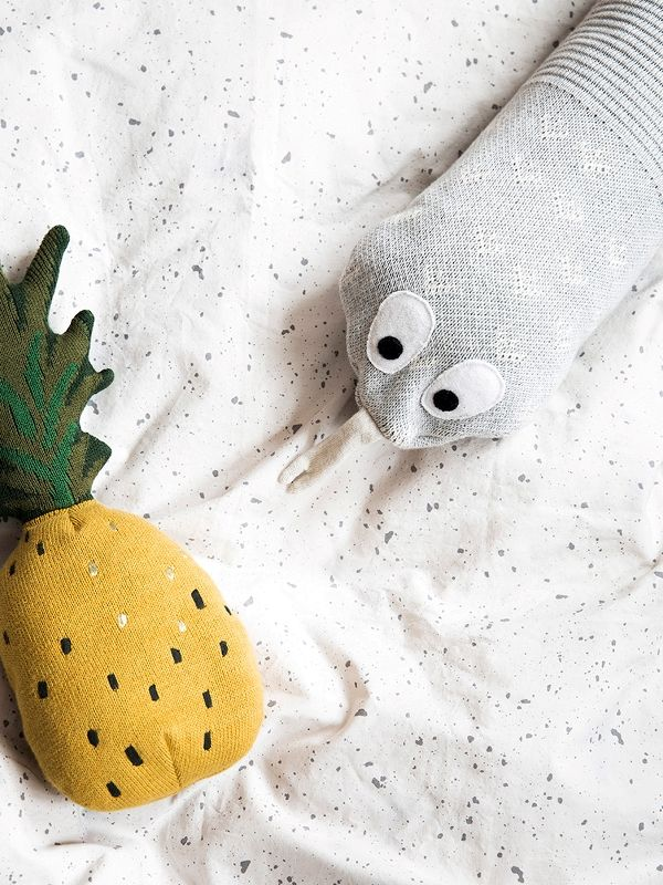 Fruiticana Pineapple Toy 3 Cushions, Toys, Kids room
