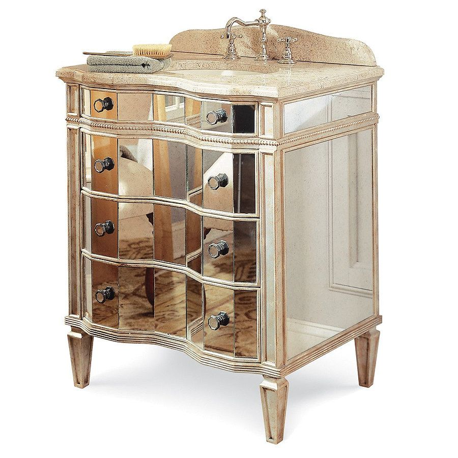 30 Inch Hollywood Sink Chest Bathroom Vanity, Gold 13.22.275530.13 By Cole  + Co