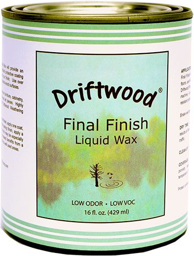 Driftwood Final Finish Liquid Wax Use When You Want To Preserve Your Weathered Wood Also Works Great Over Chalk Paint Finishes