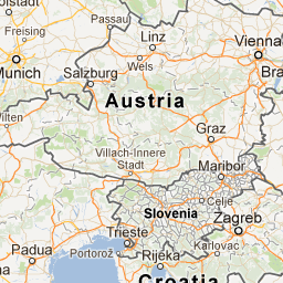Europe Google Maps Austria Salzburg Map