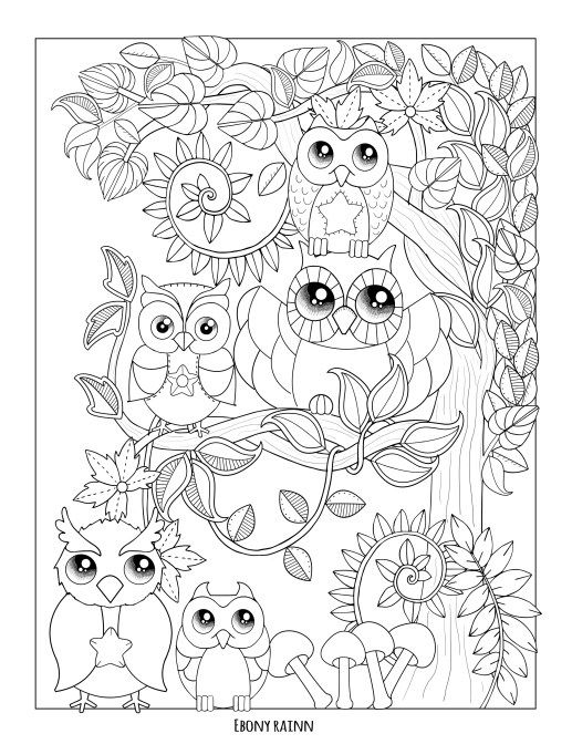 Free coloring pages – Ebony Rainn | Coloring Pages *Animals ...