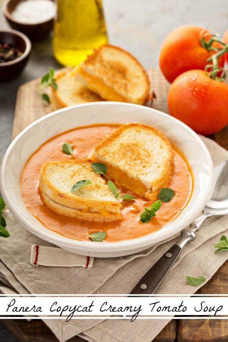 Panera Creamy Tomato Soup Copycat Recipe this simple