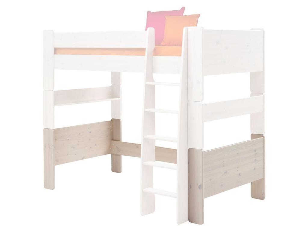 Steens Etagenbett Weiß : Umbauset vom etagenbett 90x200cm zum hochbett steens for kids