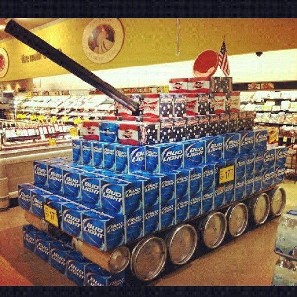 Bud Light Tank