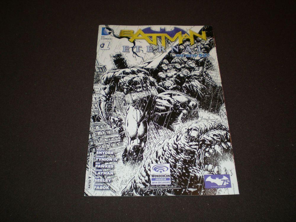 DC, Batman Eternal 1, WonderCon Exclusive Kubert Variant, DC Comics,  June  2014 NEW@http://stores.ebay.com/NYCleather1022