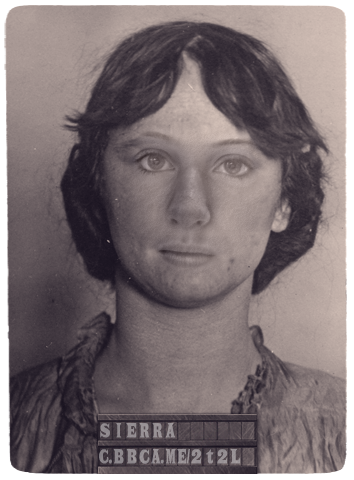 Sierra's mugshot If I got arrested in 1864 #NYC, this would be my #mugshot. http://c.bbca.me/2t2L Try the app yourself (via @CopperTV and @BBCAmerica)