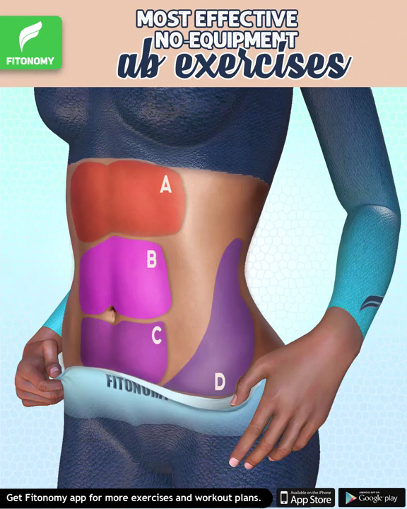 Most effective abs exercises. #abs #workout #fitness #absworkout