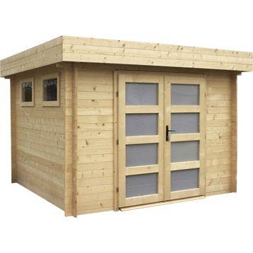 abri de jardin en bois kivik 6 75m p