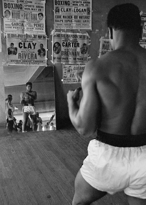 Cassius Clay * aka Muhammad Ali Black & White | #MichaelLouis - www.MichaelLouis.com