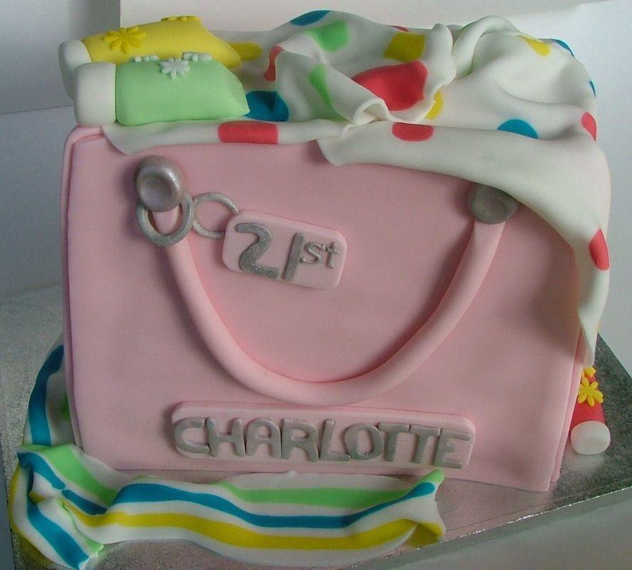Handbag Cake Big Kids Cakes Pinterest Cake Cake Gallery And