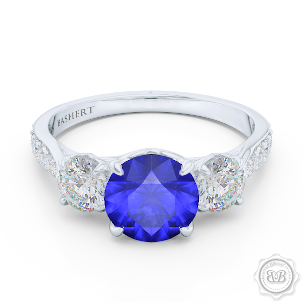 To have and to hold Gia certified diamonds Royal blue and Sapphire
