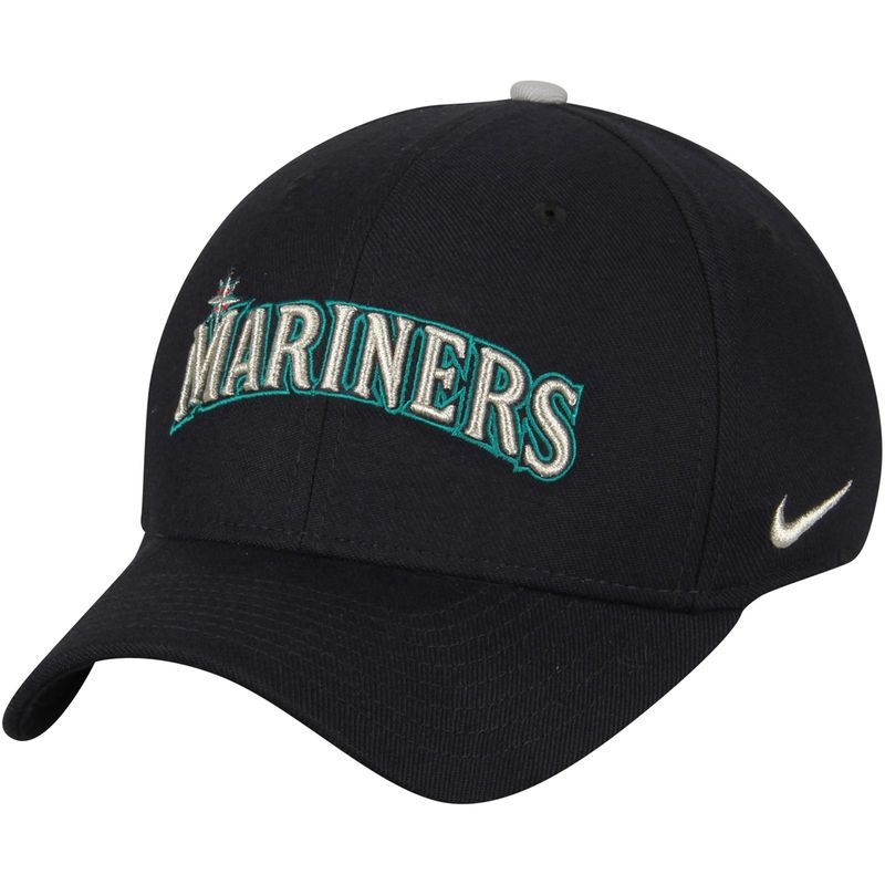 f89de8a3d6e63 ... closeout seattle mariners nike classic swoosh performance flex hat navy caps  hats mlb men bff49 8f300
