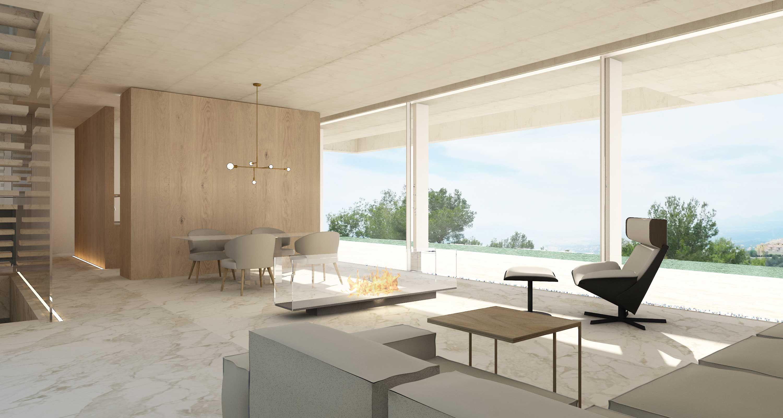 Salon De Diseno Minimalista Interiores Pinterest House Oslo Y - Salones-diseo-minimalista