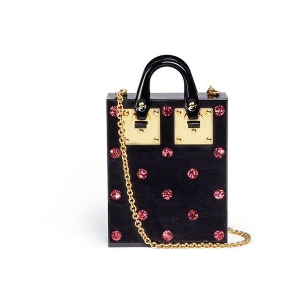 Compton glitter cross-body bag Sophie Hulme 8EHRn