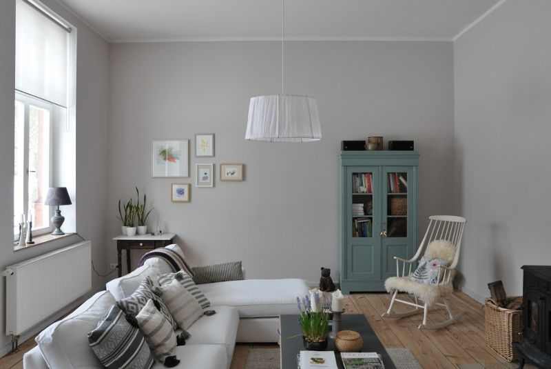 Colour Study: Farrow And Ball Cornforth White (Modern Country Style). White  Living RoomsLiving Room ... Part 55