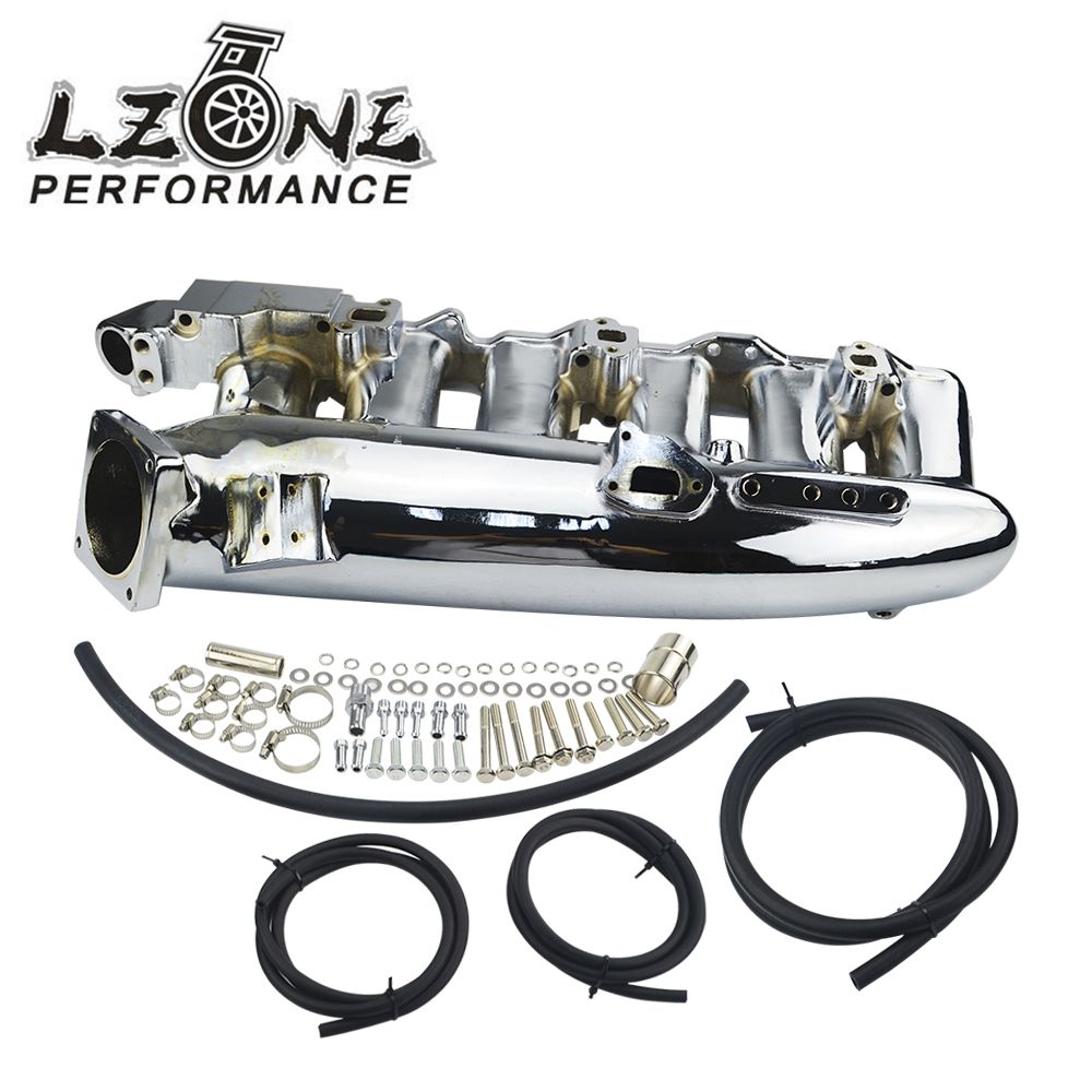 LZONE RACING - CHROME INTAKE MANIFOLD for Nissan skyline