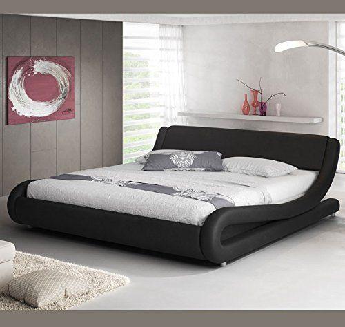 Muebles Bonitos Alessia Polsterbett In Lederoptik In Schwarz 180x200 Http Www Amazon De Dp B073rqrqlf Ref Cm Diy Mobel Schlafzimmer Bett Modern Bett Mobel