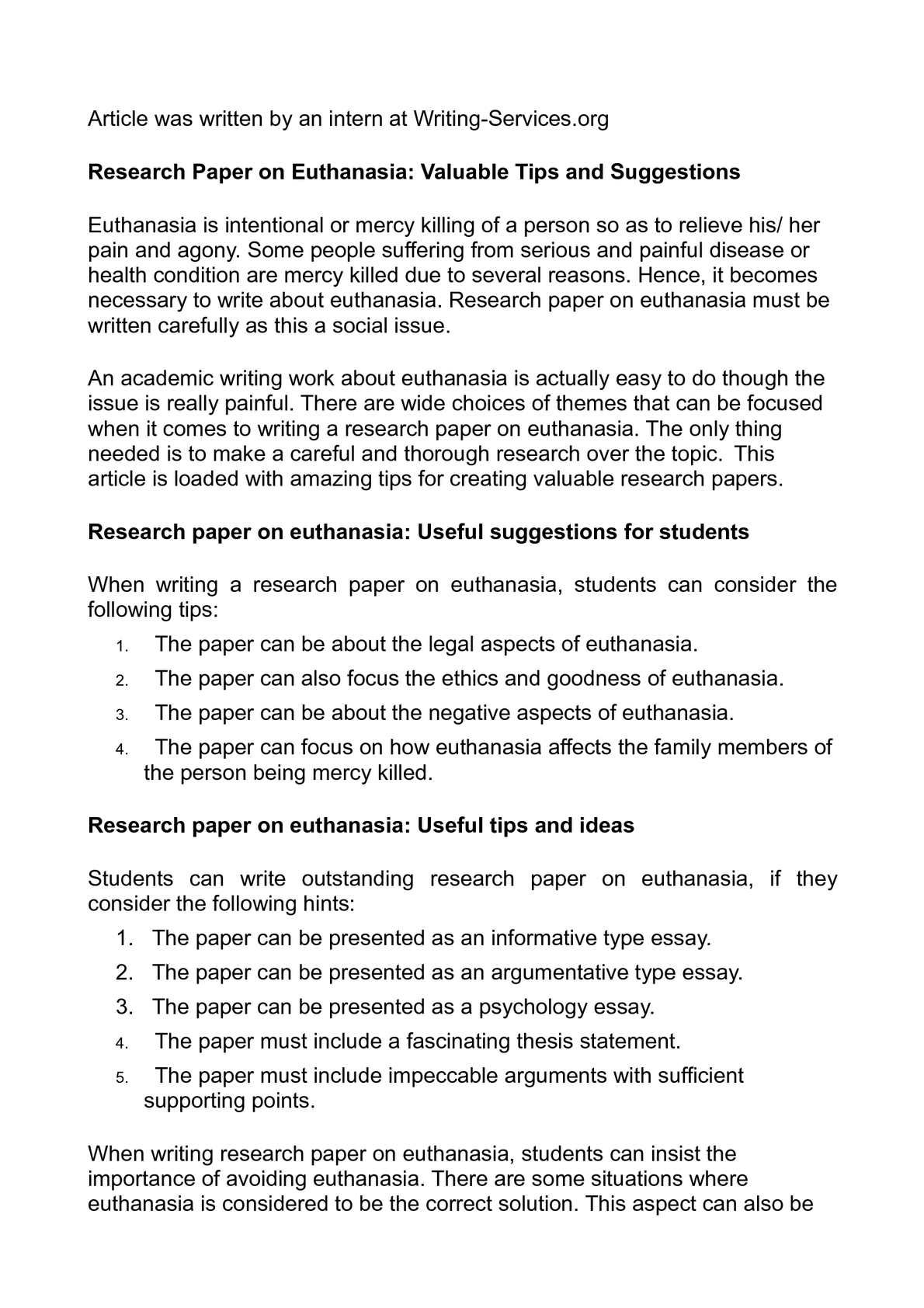 argumentative research paper on euthanasia research argument argumentative research paper on euthanasia research argument essay your research paper should include an argumentative