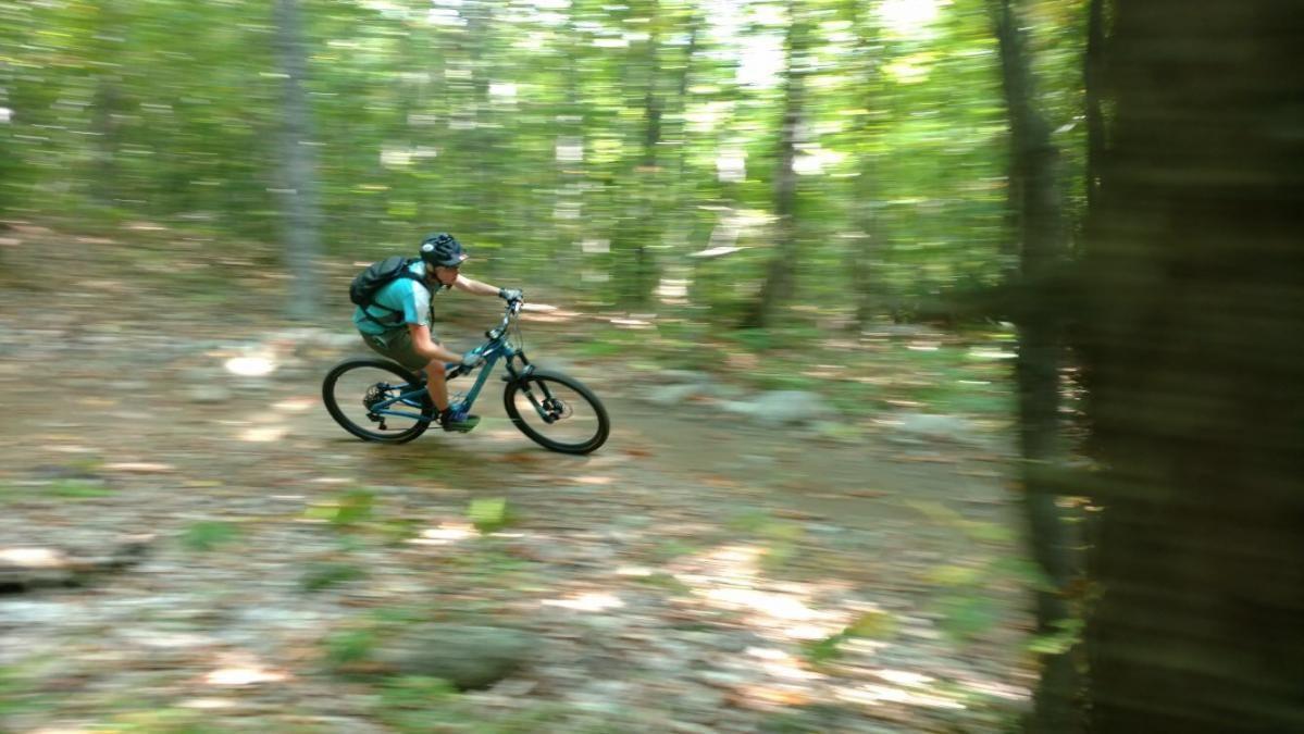Carrabassett Valley Maine Mnt Bike Trail System Mountain
