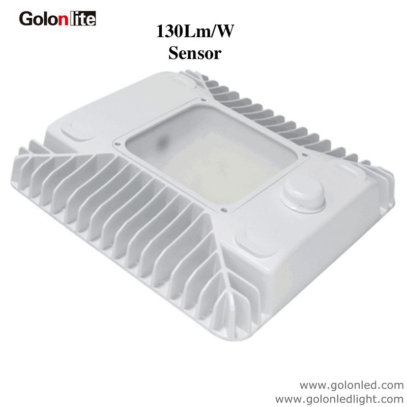 Led Canopy Light For Gas Petrol Station Parking Lot Warehouse Factory Corridor Garage 150w 120w 100w 5 Years Warrant Canopy Lights Philips Led Led Flood Lights
