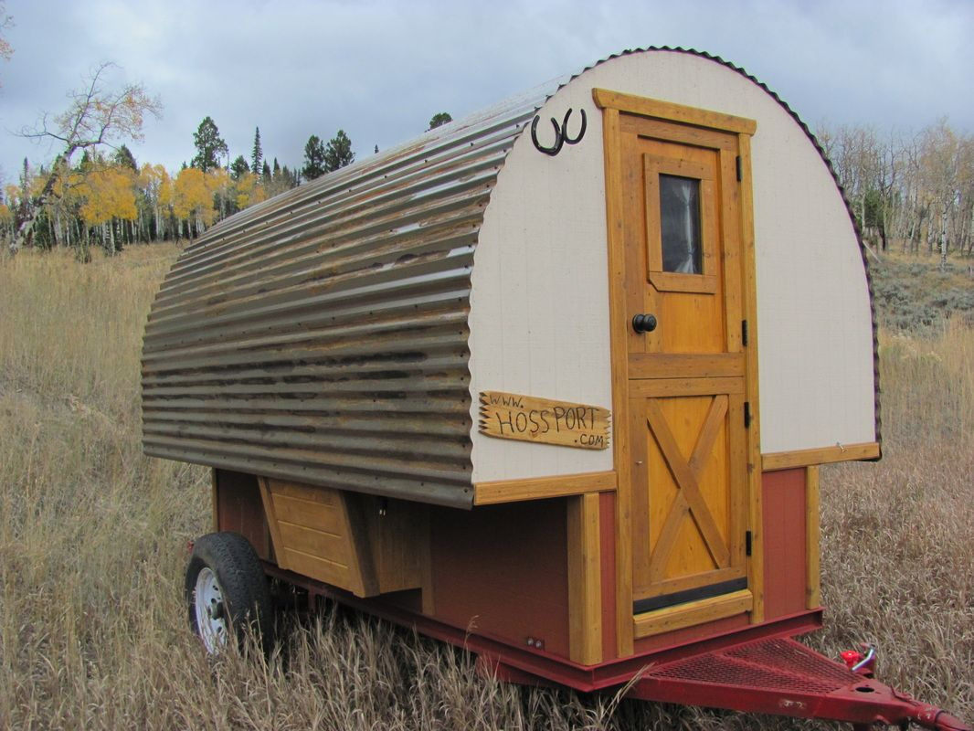 Sheep Wagons Tiny Houses Pinterest Sheep Gypsy wagon and