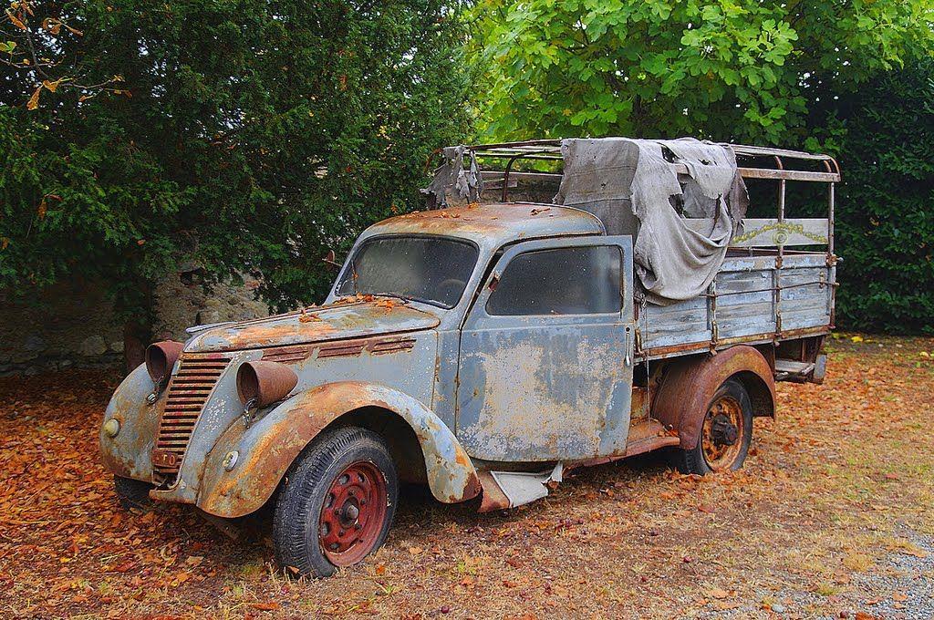 Трошляк!, My very, very old car! ;-)) Forgotten in Castello di ...