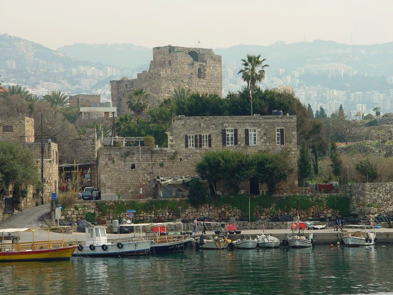 Byblos is a Mediterranean city located in Lebanon