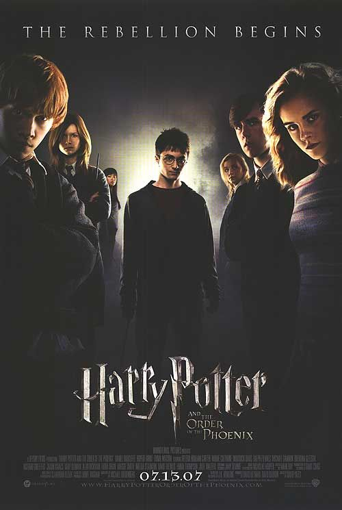 Harry Potter And The Order Of The Phoenix Poster Peliculas Cine Series