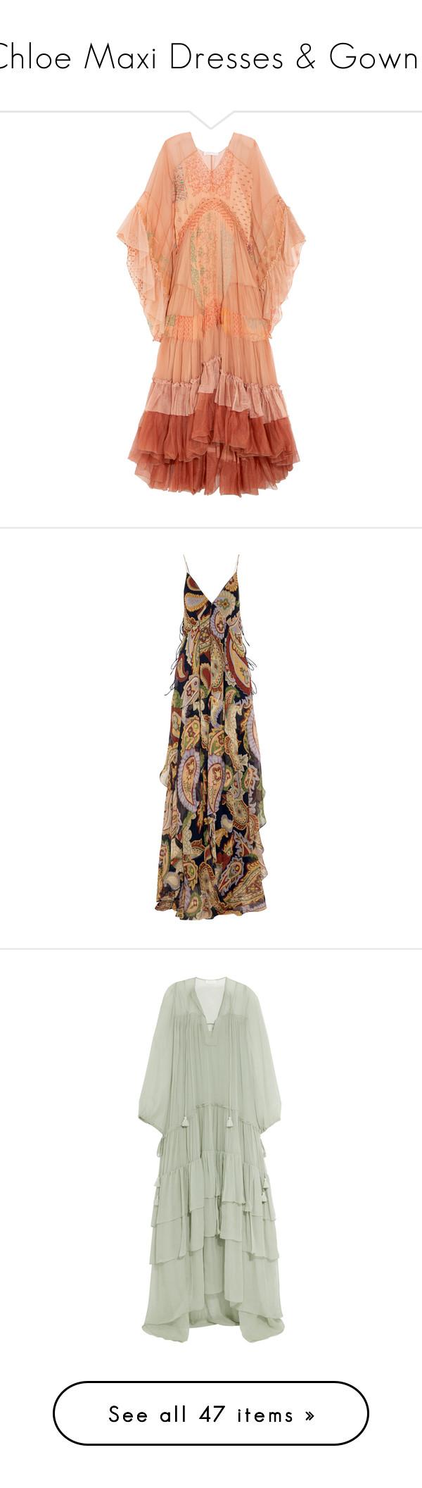 Chloe maxi dresses u gowns