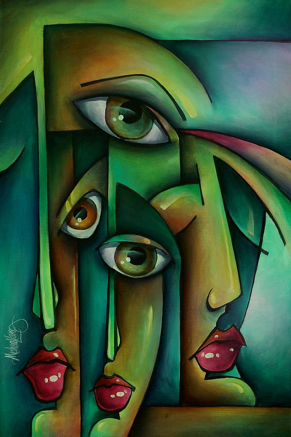 Suspicion By Michael Lang Green Art For Rooms With