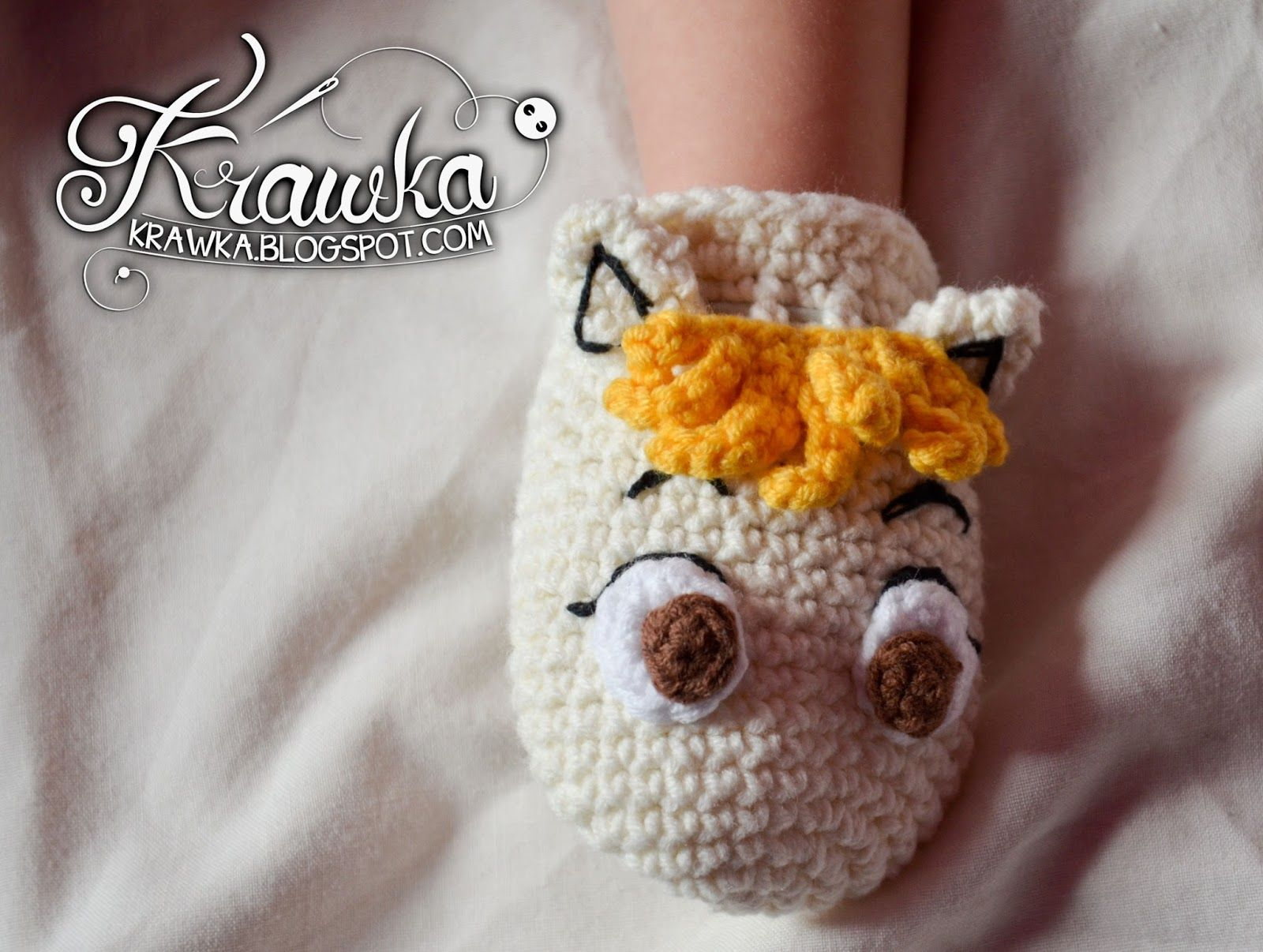 Krawka: Moomin and Snorkmaiden anti scratch gloves for infants FREE ...