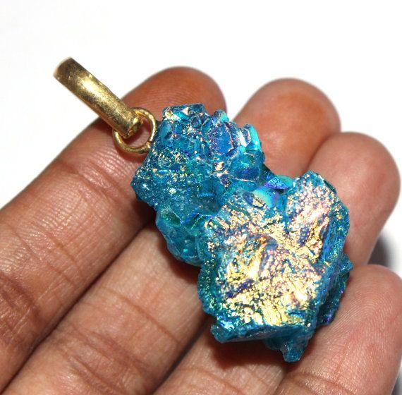 48x23 mm angel aqua aura crystal quartz pendant aqua titanium 48x23 mm angel aqua aura crystal quartz pendant aqua titanium crystal cluster pendant crystal rough pendant spirit quartz pendant pn22 aloadofball Image collections