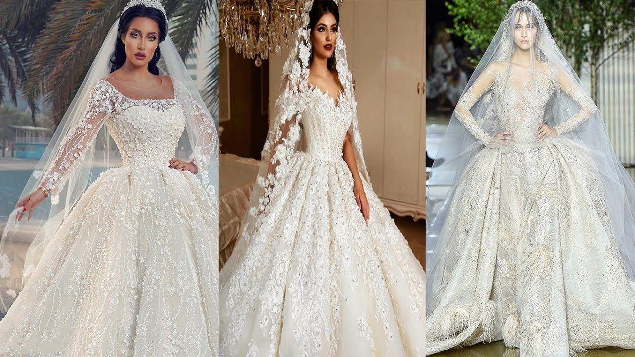 اجمل بدلات اعراس موديلات فساتين زفاف لأجمل عروسة 2019 Wedding Dresses Lace Dresses Wedding Dresses