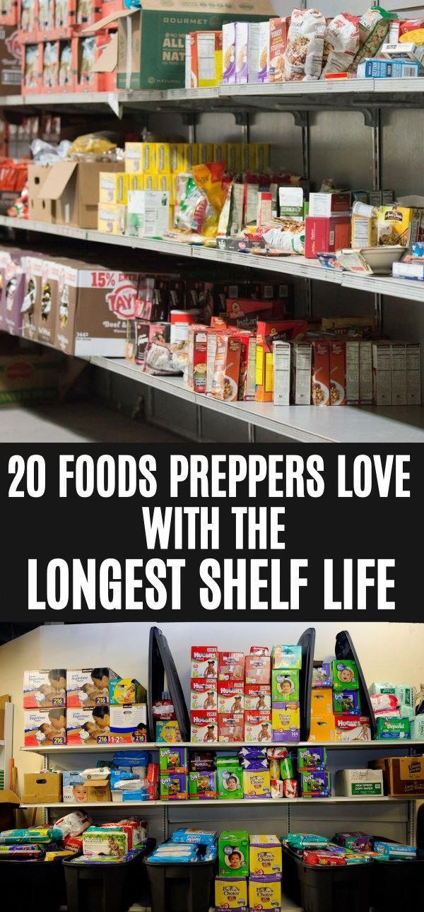 Intelligent Reinforced Prepper Pantry List See This In 2020 Survival Food Prepper Survival Emergency Preparation