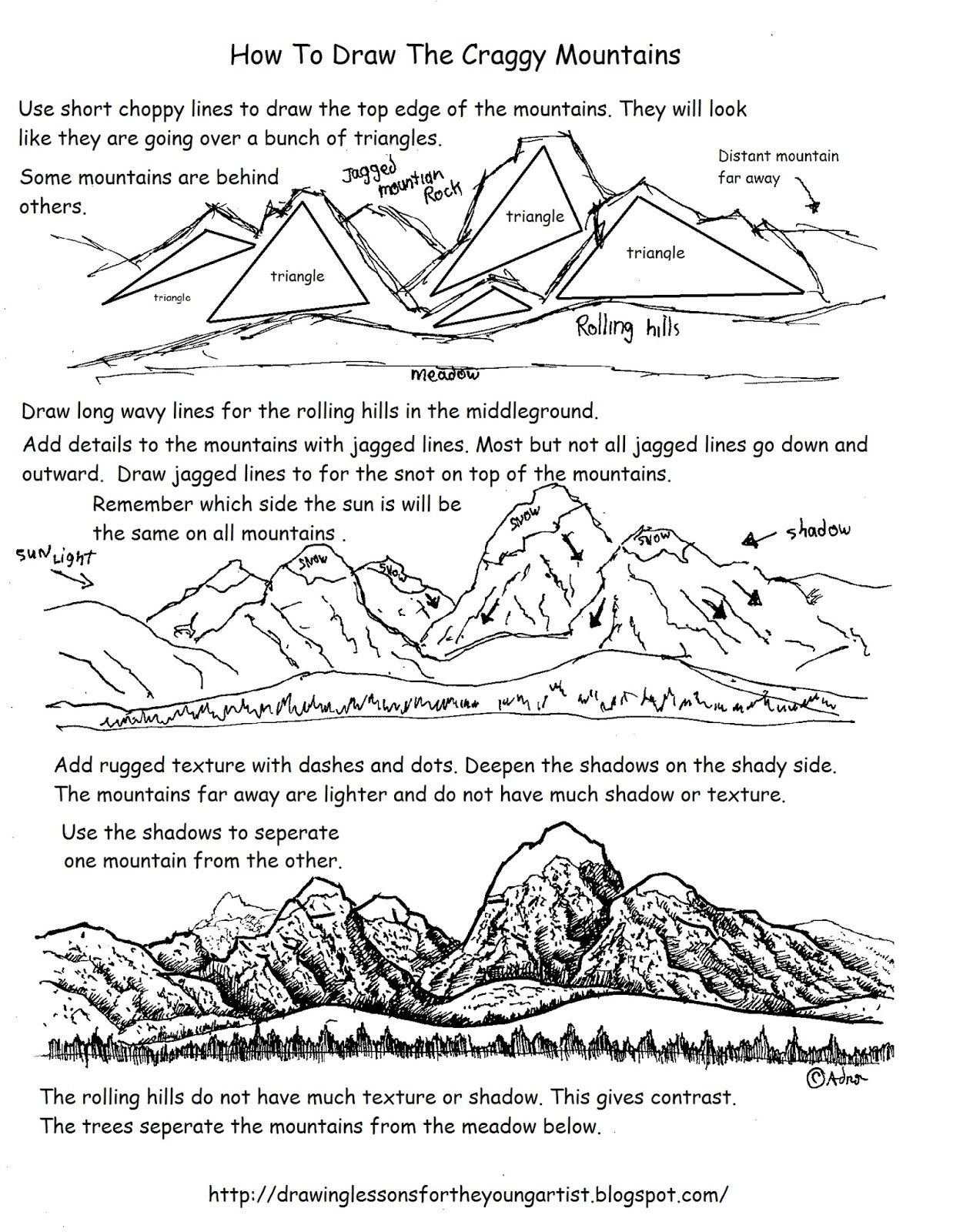 Perspective Therapy Worksheets Art