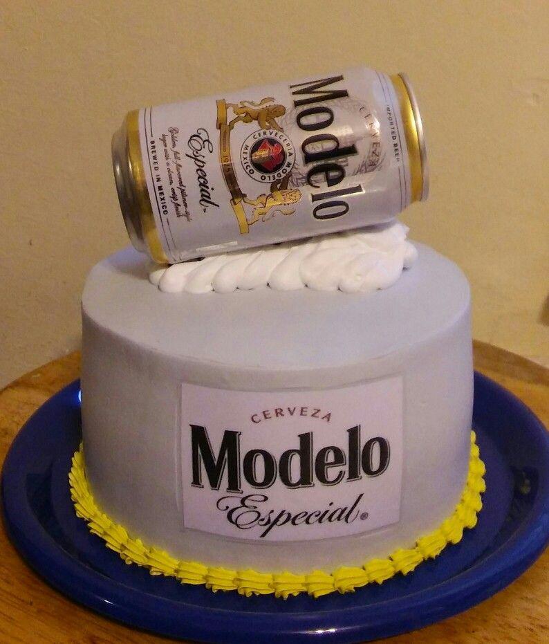 Mini Beer Modelo Cake Mis Creaciones In 2019 Beer Bread
