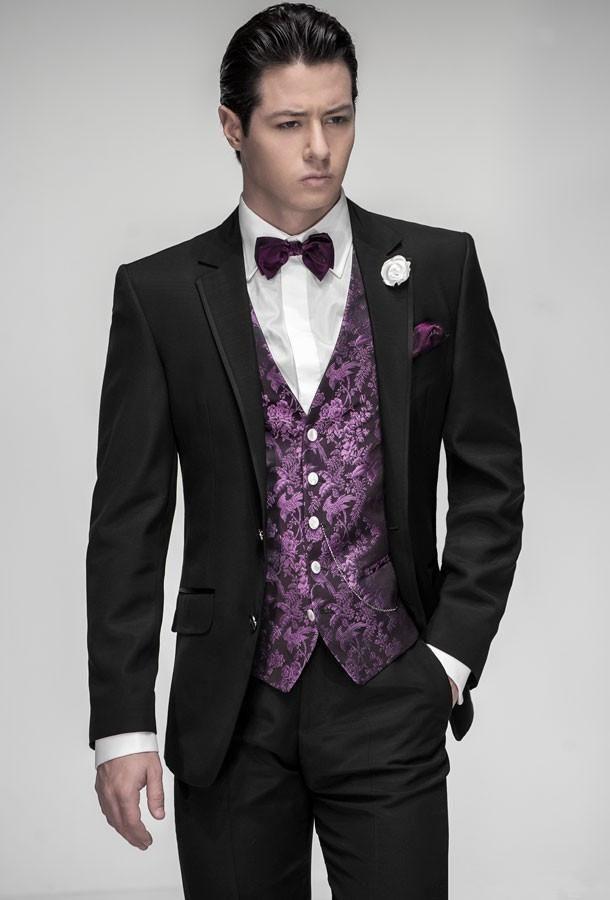 Click To Enlarge Black And Purple Wedding Suits Ocodea Com