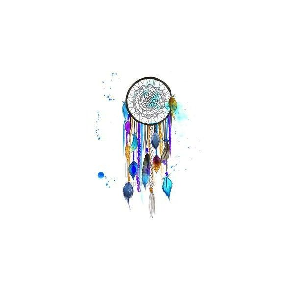 Dream Catcher #3, Print of Original Watercolor Painting Native... ❤ liked on Polyvore featuring home, home decor, wall art, inspirational home decor, paper wall art, inspirational wall art, motivational paintings and dream catcher wall art