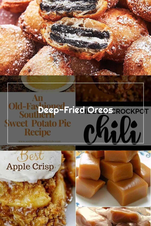 Homemde Recipe Deep Fried Oreos