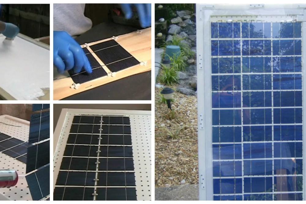 Como Construir Tu Propio Panel Solar Paneles Solares Como Construir Y Disenos De Casas
