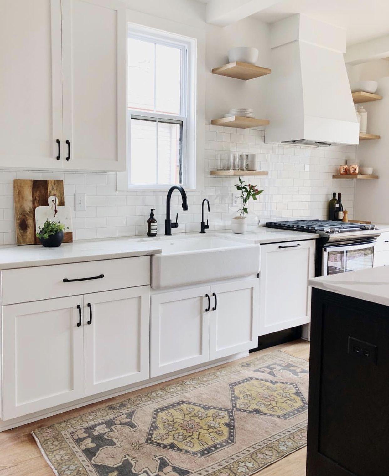 White Kitchen Cabinets With Black Hardware: Pin Lisääjältä Heidi Alina Taulussa Home Decor