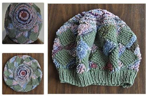 Garter Entrelac Knit Gloves Pinterest Patterns