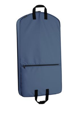6764d4acdc62 WallyBags Navy 42-in. Suit Length Garment Bag with Accessory Pocket -  Online Only