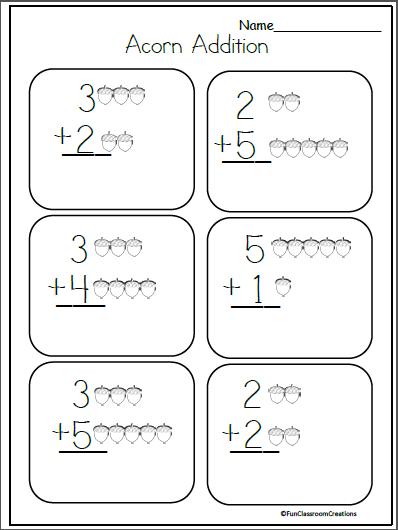 November Worksheets Kindergarten