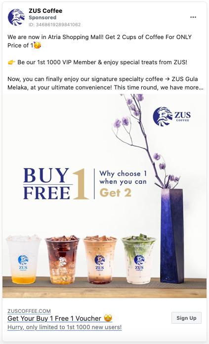 Zus Coffee Malaysia In 2020