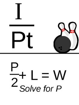 Solving Equations (Rewriting Formulas) Scavenger Hunt