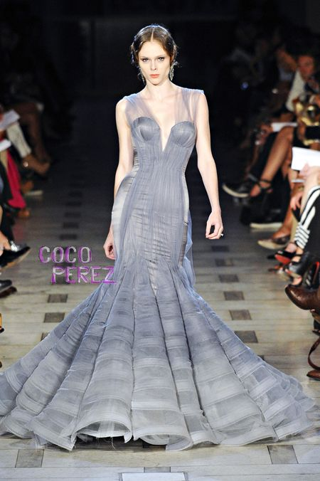 """""""I can't handle it! Coco looks amazing in Zac Posen Spring 2012."""" - re-pinned from student Travis Joy"""