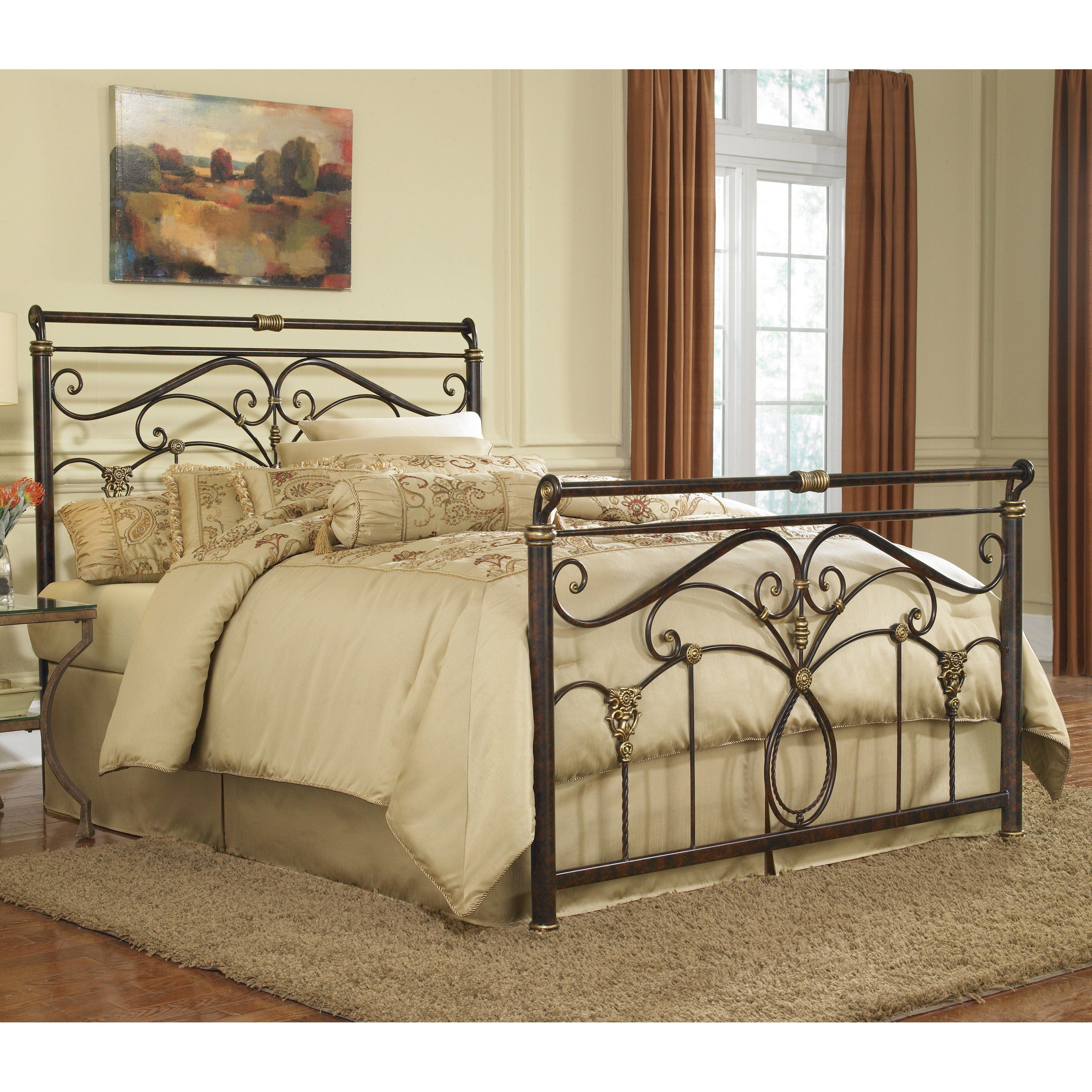 Have To Have It Lucinda Sleigh Bed 276 01 Hayneedle Bed Styling Iron Bed Sleigh Beds