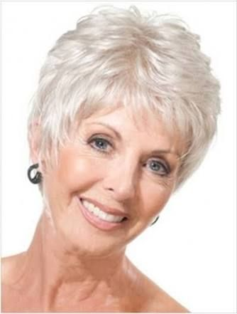 Image Result For Short Hairstyles For Women Over 70 Lady
