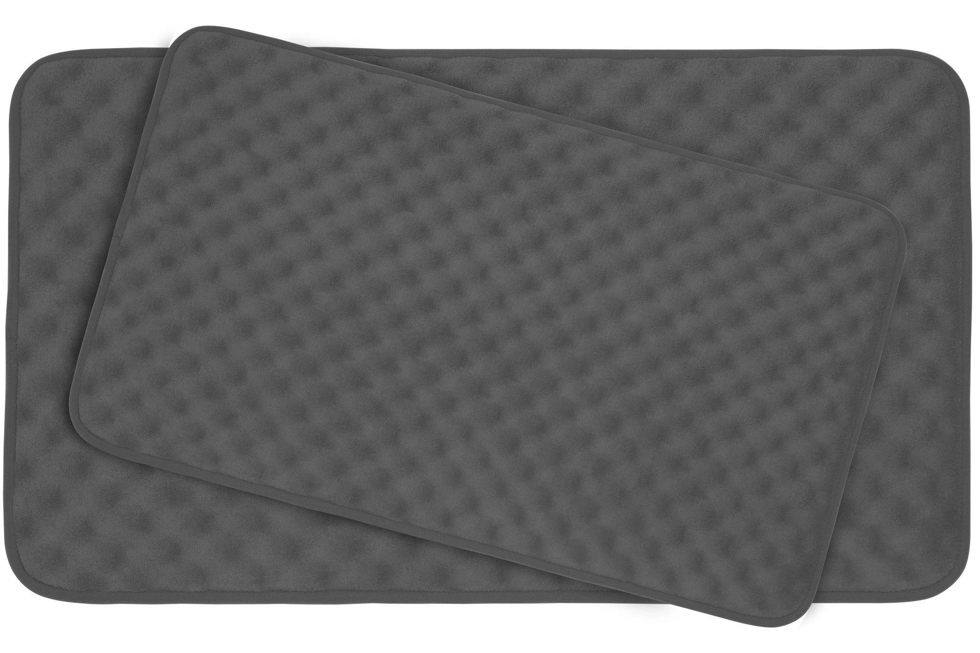Massage Premium Micro Plush Memory Foam Bath Mat Set Products